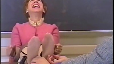 mature woment tickled
