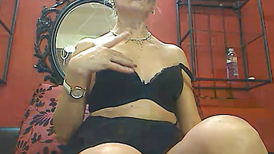 Milf Smoking Tease