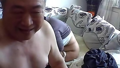 asian old man