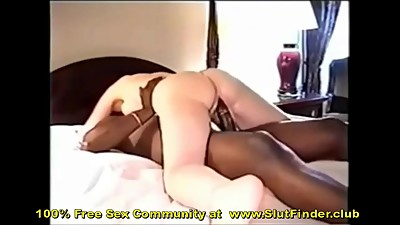Husband Films Older Wife Fucking Black..