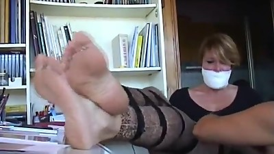 Milf Tied & Tickled