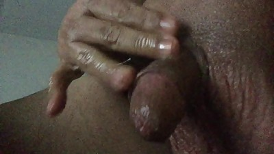 Jerking Off in Baby Oil and Roomate's..