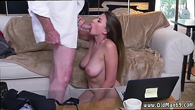 Glory hole facial and white slut..