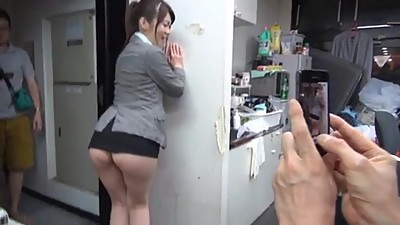Asian in too short skirt ! even other..