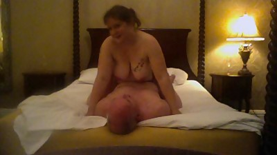 Mel fucks on top and cums