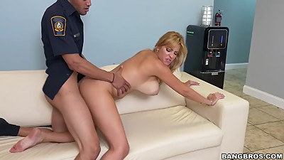 Jazmyn Gets Fucked By Security Staff