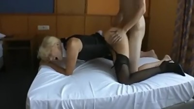 Husband films wife fucking young guy..