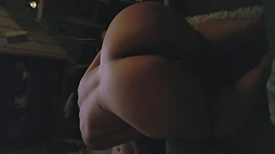 Spun Milf sucks 2 two Bi cocks