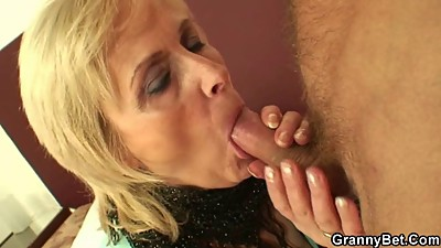 Old prostitute is picked up and fucked..