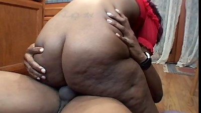 Horny Black girl gives a head in a..