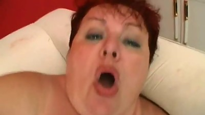 bbw redhead mature suck and  fuck with..