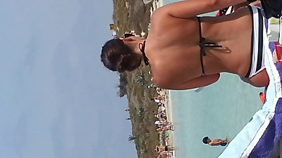 Caught playing Voyeur on Cyprus Beach
