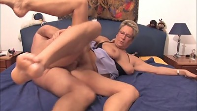 Hottie BBW Mature Blonde Gets Cum on..