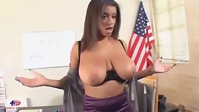 Fuck that busty MILF teacher