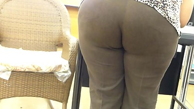 Phat Ass bent  At Western Union Booth