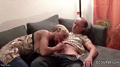 Step-Dad Seduce Young German Girl to..