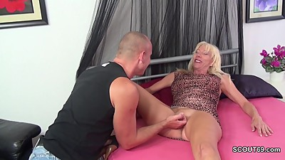 Step-Mother Seduce Step-Son to Fuck..