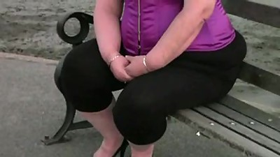 Bbw Granny in pink