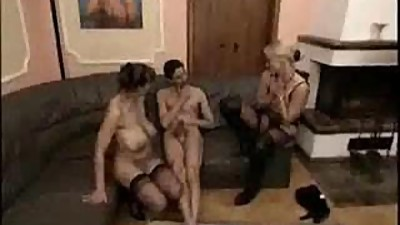 2 Mature women for anal casting