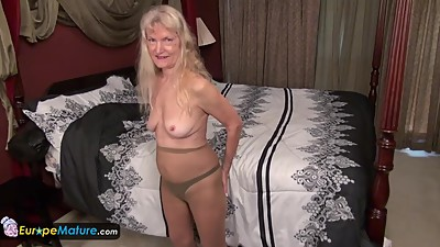 EuropeMature Old granny Cindy gone too..
