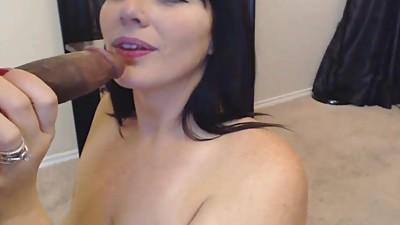 Hot MILF Loves Sucking Husband Black..