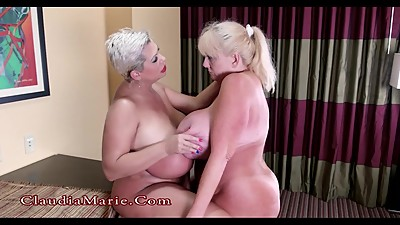 Huge Tit Claudia Marie Destroys Kayla..