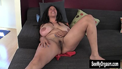 Huge Titted Shannon Finger Her Dark..