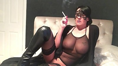 smoking milf wife