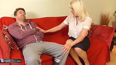 AgedLovE Mature Blonde Anne Hardcore..