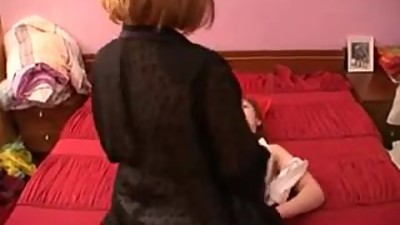 Russian mom and girl 11