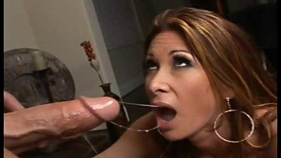 Tiffany Mynx Sucking Lucky Guys Cock - 4