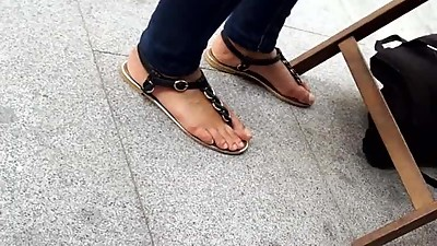 mature friends natural feets, sandals..