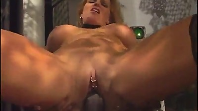 hot blonde milf with pink pussy gives..