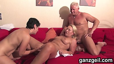 GanzGeil.com Excited bisexual german..