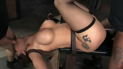 Milf Slave Fucked In Every Hole by BBC..