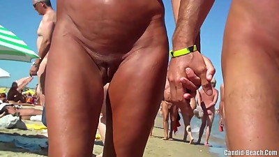 Sexy Nudist Milfs SpyCam Close Up..